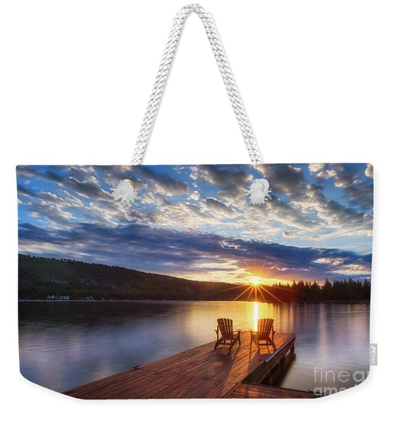 Good Morning Sun Weekender Tote Bag