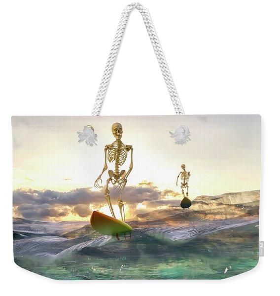 Good Morning Topsail Weekender Tote Bag