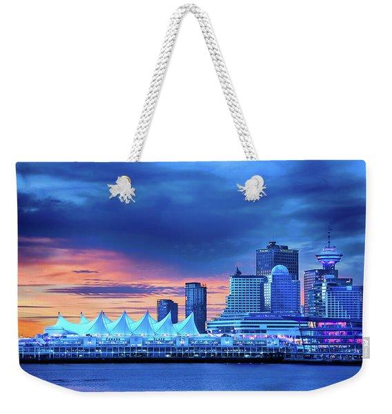 Good Morning Vancouver Weekender Tote Bag