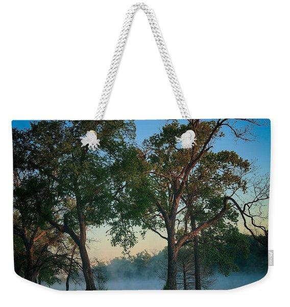 Good Morning Waco Weekender Tote Bag