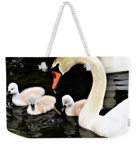 Good Parenting Weekender Tote Bag