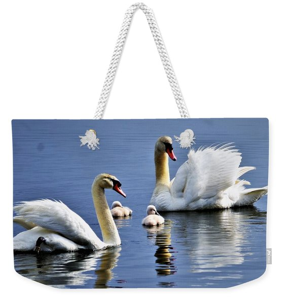 Good Parents Weekender Tote Bag