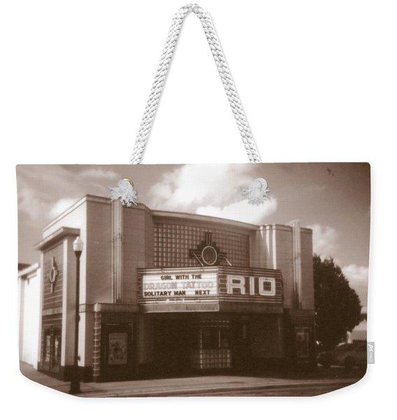 Good Time Theater Weekender Tote Bag