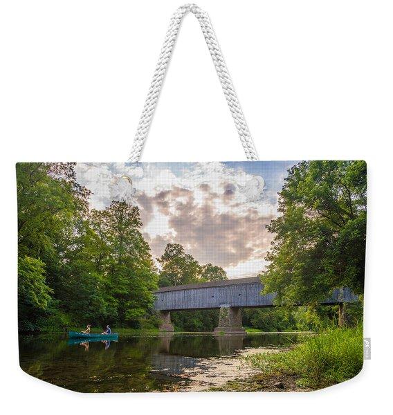 Good To Canoe Weekender Tote Bag