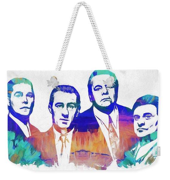 Goodfellas Watercolor Weekender Tote Bag