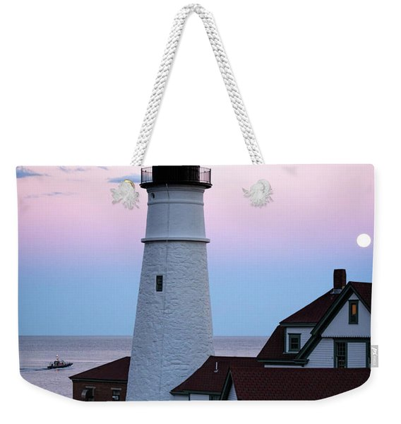Goodnight Moon, Goodnight Lighthouse  -98588 Weekender Tote Bag