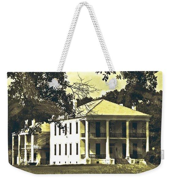 Goodwood Plantation Baton Rouge Circa 1852 Weekender Tote Bag
