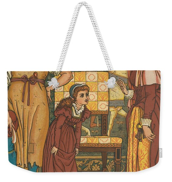 Goody Two Shoes' Picture Book Weekender Tote Bag