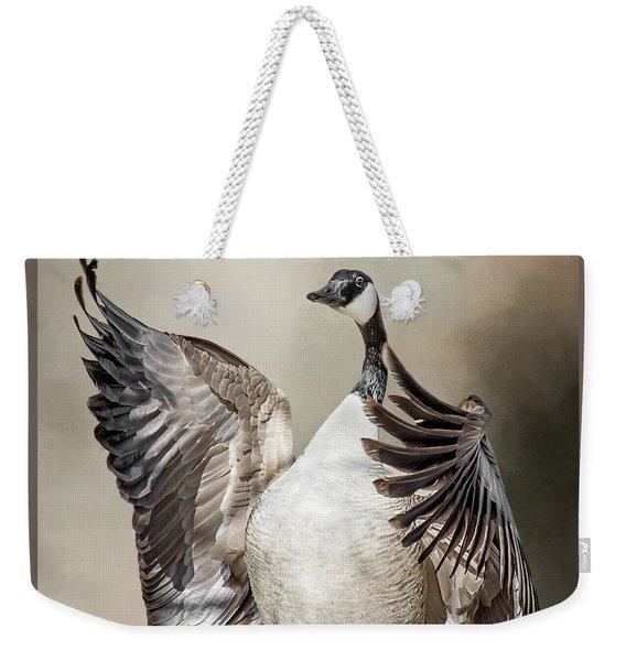 Goose Chase Weekender Tote Bag