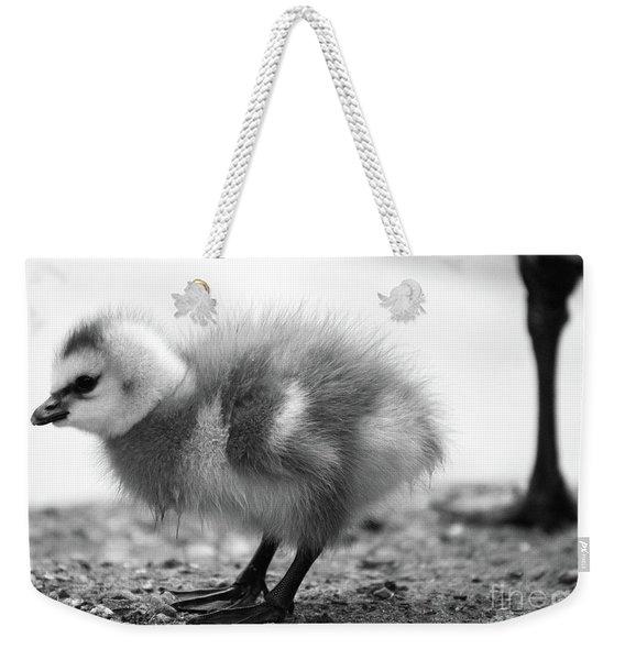 Goose Chick Weekender Tote Bag