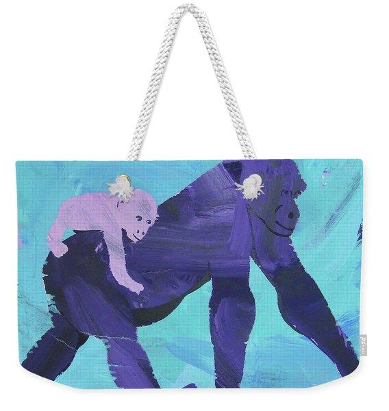 Gorgeous Gorilla Weekender Tote Bag