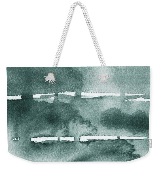 Gorgeous Grays Abstract Interior Decor Ix Weekender Tote Bag