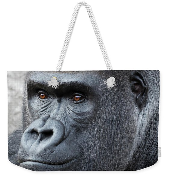 Gorillas In The Mist Weekender Tote Bag