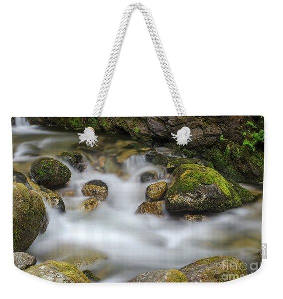 Goritsa Waterfalls Stream-bulgaria Weekender Tote Bag
