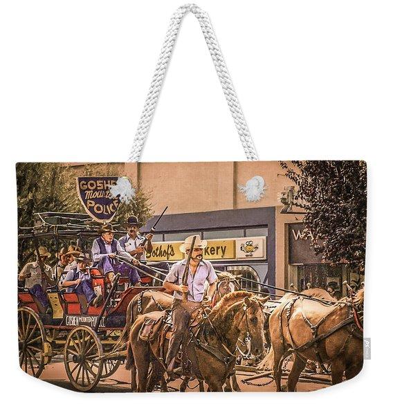 Goshen Mounted Police Weekender Tote Bag