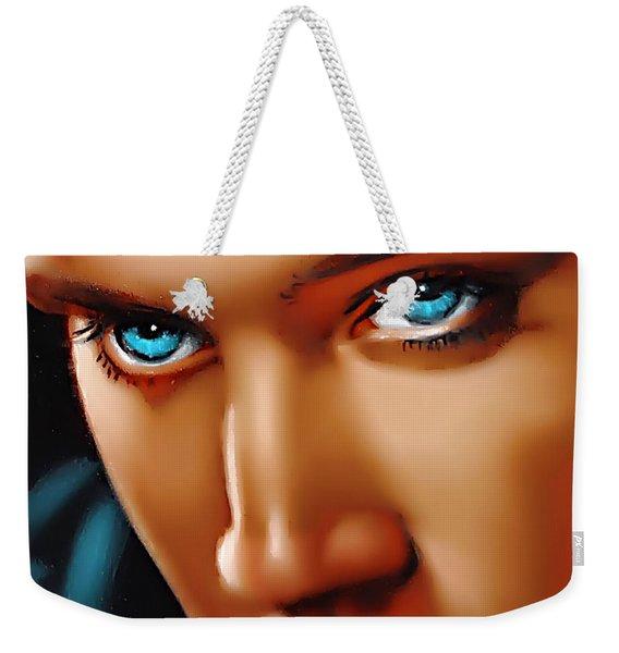 Gospel Elvis Weekender Tote Bag