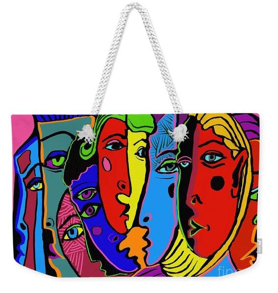 Gossip Weekender Tote Bag