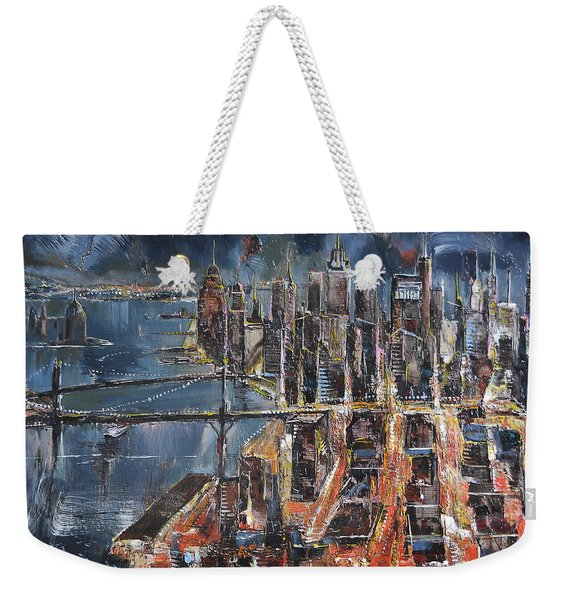 Gotham City II Weekender Tote Bag