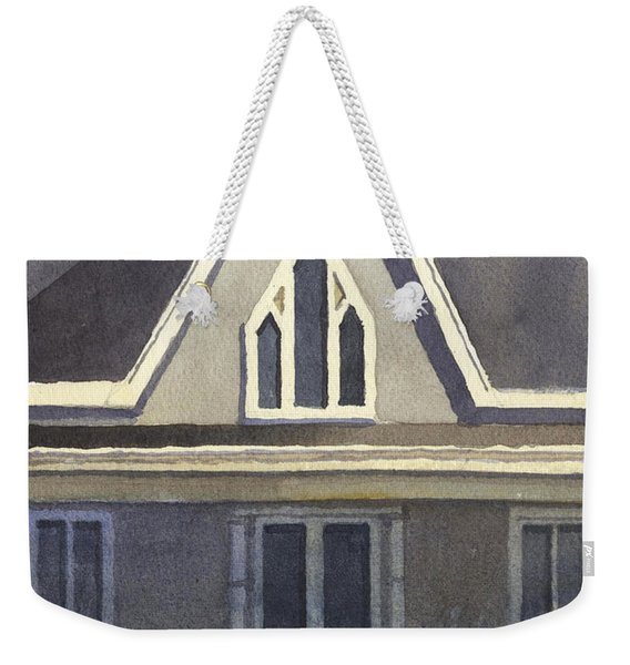 Gothic American, New Harmony, In Weekender Tote Bag