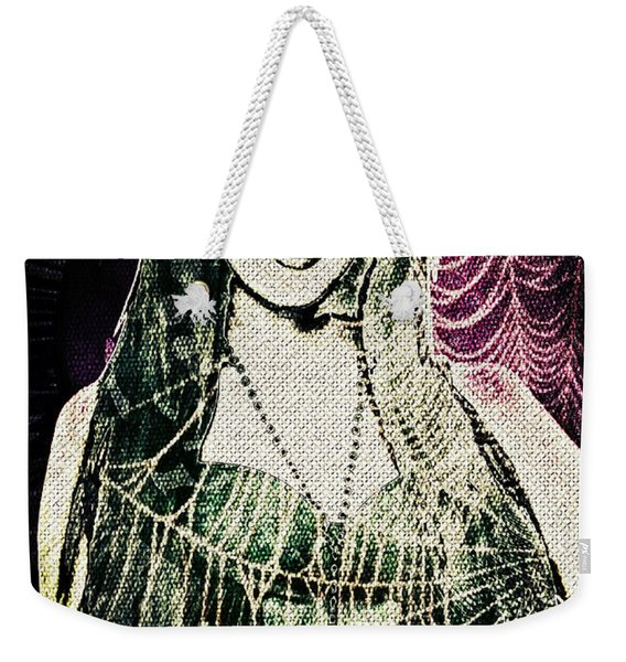 Gothic Corset And Curves Weekender Tote Bag