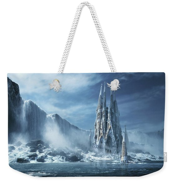 Gothic Fantasy Or Expiatory Temple Weekender Tote Bag