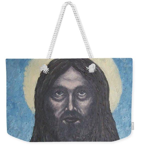 Gothic Jesus Weekender Tote Bag