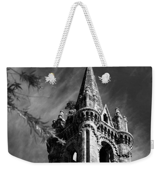 Gothic Style Weekender Tote Bag