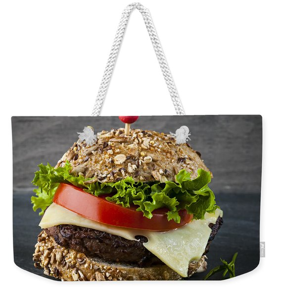 Gourmet Hamburger Weekender Tote Bag