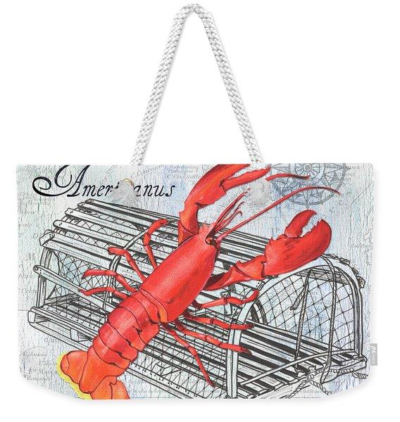 Gourmet Shellfish 2 Weekender Tote Bag
