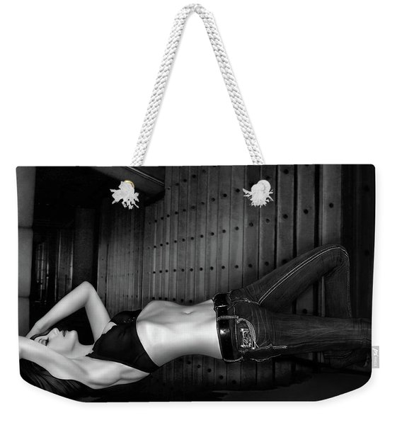 Grace And Steel - Self Portrait Weekender Tote Bag