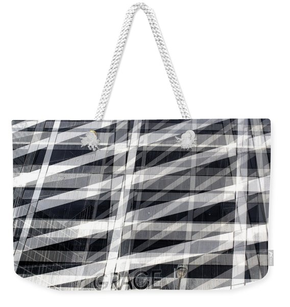 Grace Building Collage 2 Weekender Tote Bag