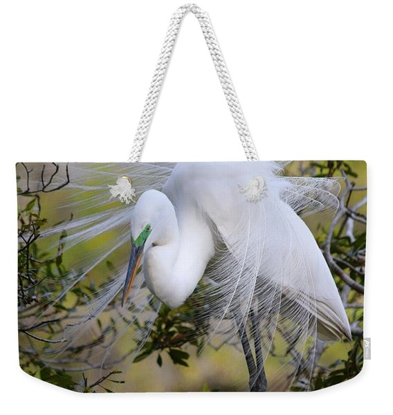 Grace In Nature Weekender Tote Bag