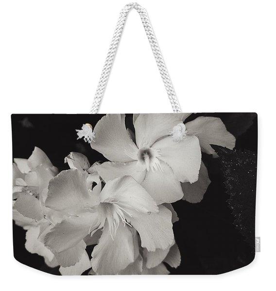 Grace In White Weekender Tote Bag