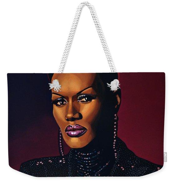 Grace Jones Weekender Tote Bag