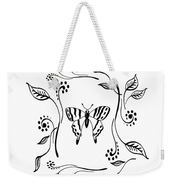 Graceful Butterfly Baby Room Decor IIi Weekender Tote Bag