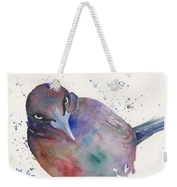 Grackula Weekender Tote Bag
