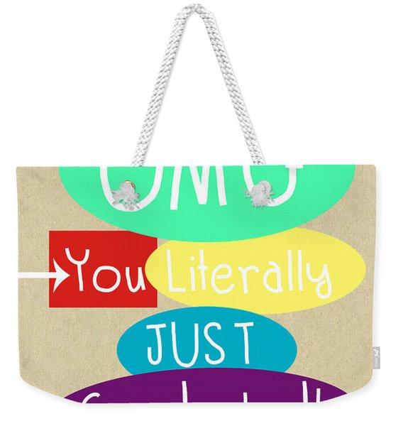 Graduation Card Weekender Tote Bag