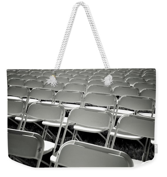 Graduation Day- Black And White Photography By Linda Woods Weekender Tote Bag