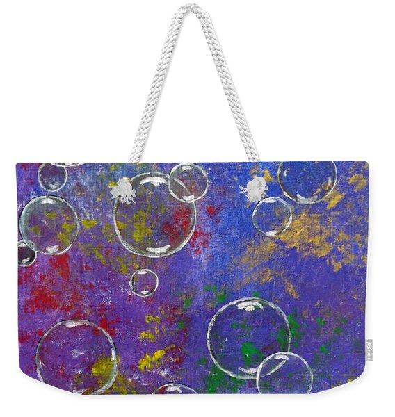 Graffiti Bubbles Weekender Tote Bag