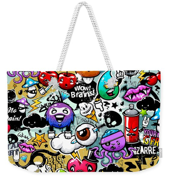 Graffiti Fun Weekender Tote Bag