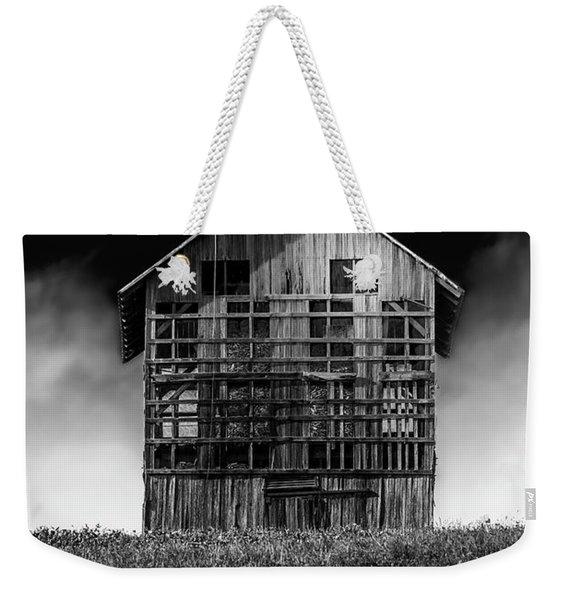 Grain Dryer Bw Weekender Tote Bag
