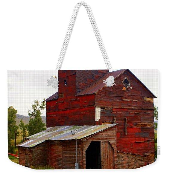 Grain Elevator Weekender Tote Bag