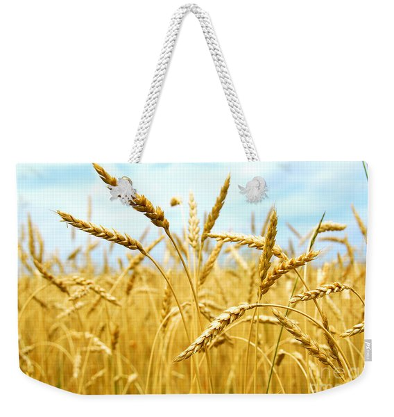 Grain Field Weekender Tote Bag