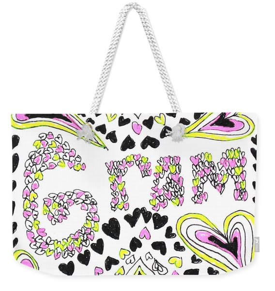 Gram Weekender Tote Bag