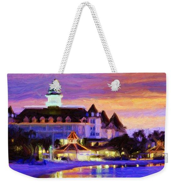 Grand Floridian Weekender Tote Bag