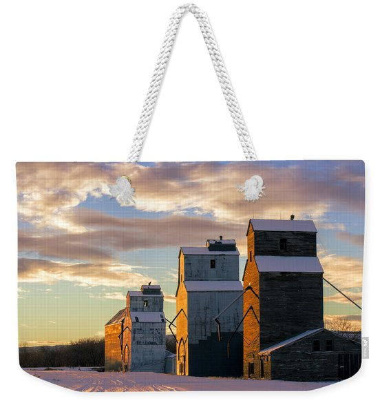Granary Row Weekender Tote Bag