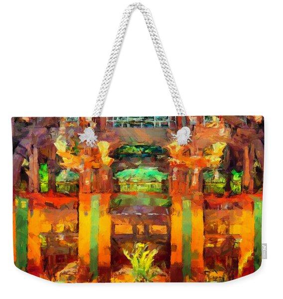 Grand Californian Resort Lobby Weekender Tote Bag