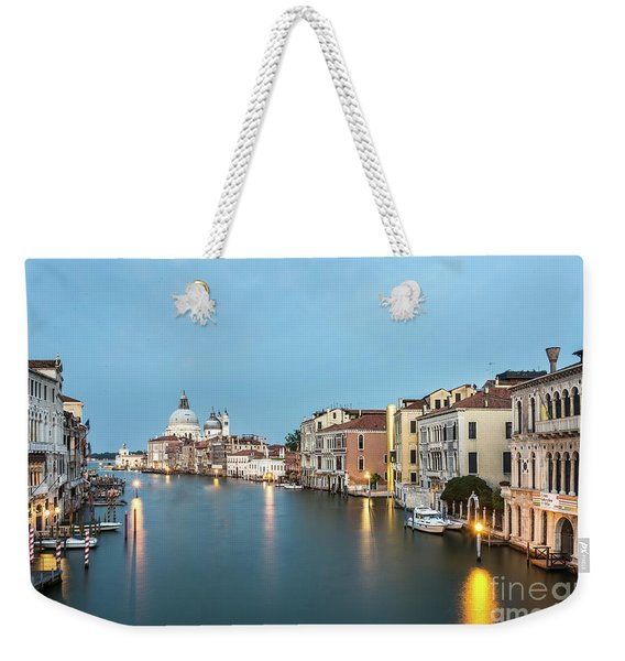 Grand Canal In Venice, Italy Weekender Tote Bag