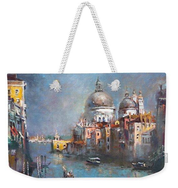 Grand Canal Venice 2 Weekender Tote Bag