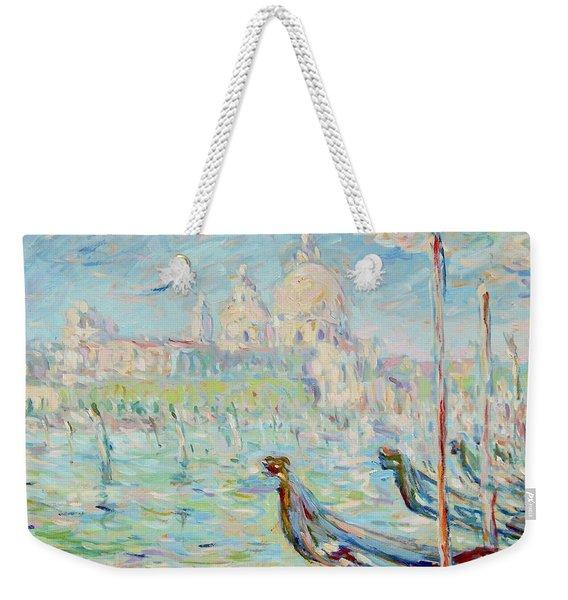 Grand Canal Venice Weekender Tote Bag